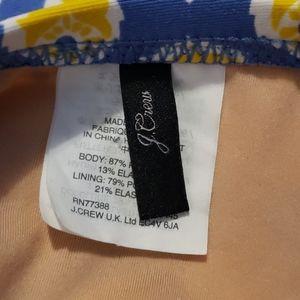 J. Crew Swim - J. CREW Ruched Bandeau Swimsuit size 4